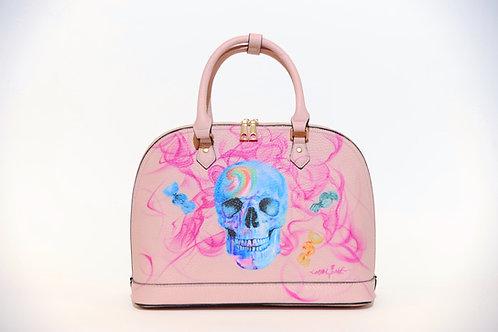 "Tasche ""Candy Skull"" Airbrush Design"