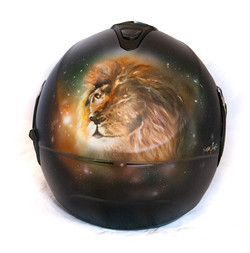 Custompaint Airbrush Helm