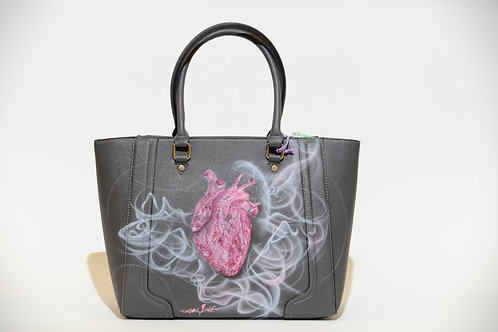 "Tasche ""Heart"" Airbrush Design"