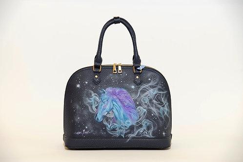"Tasche ""Space Horse"" Airbrush Design"