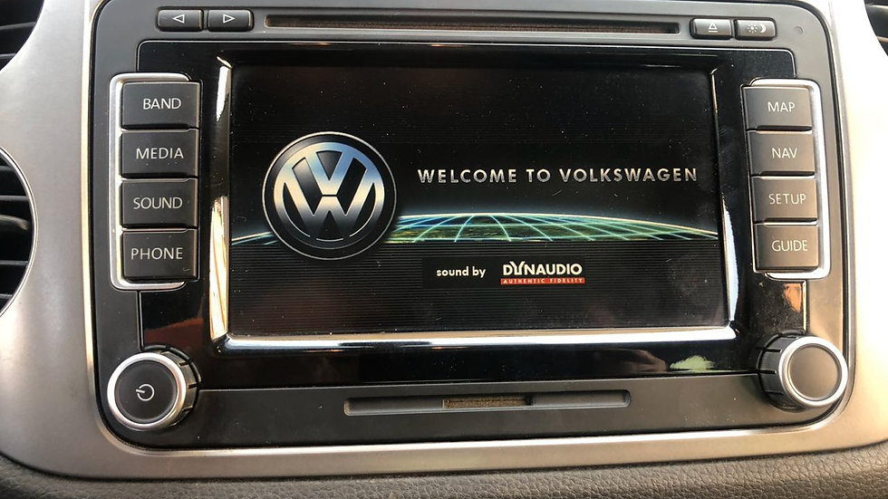 VW Touareg Navigation