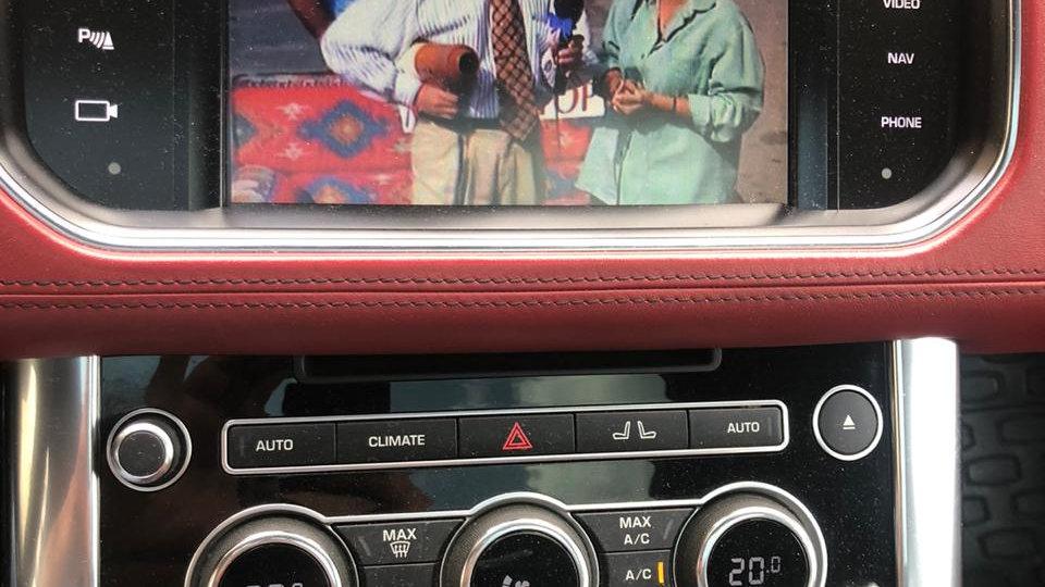 Range Rover TV Tuner