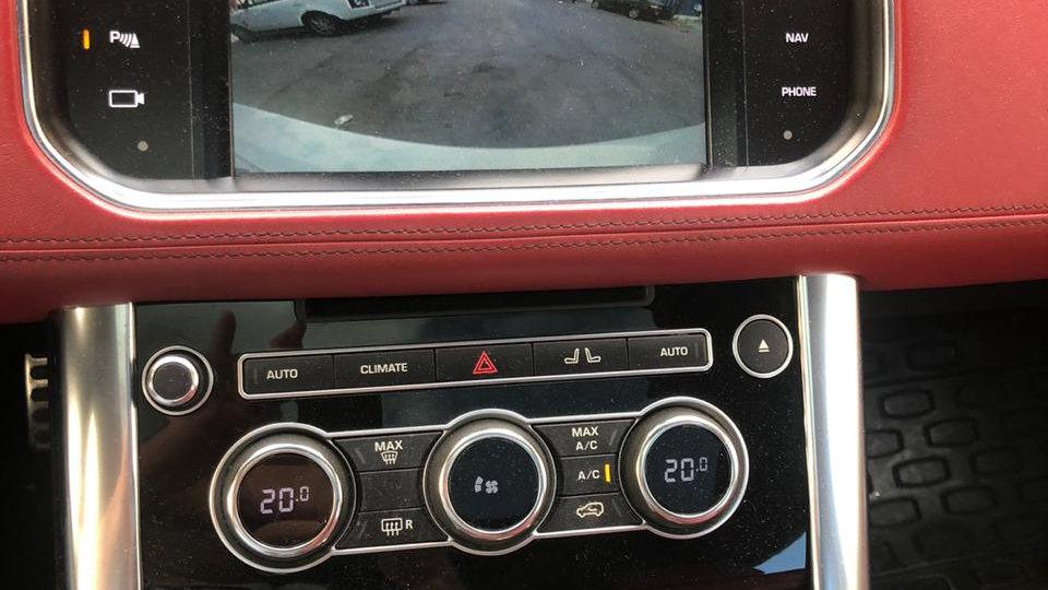 Range Rover Rear View Camera