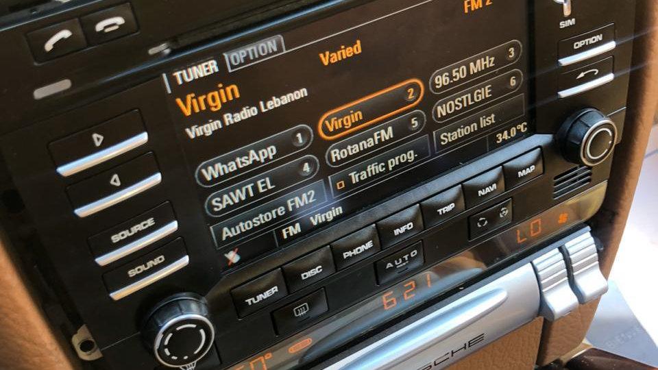 Porsche Cayenne PCM3 Touch Screen + Rear view camera + Bluetooth
