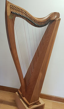 Dusty strings lever harp for sale