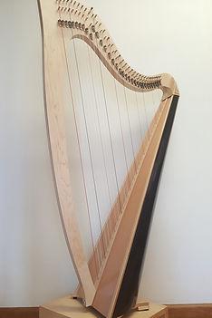 Nightingale lever harp hire