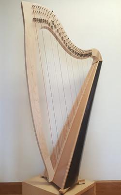 Nightingale lever harp