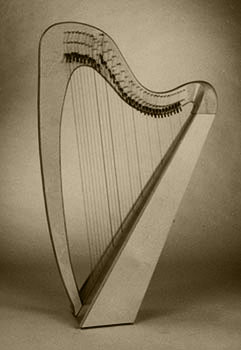 Glastonbury lever harp