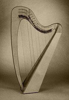 Glastonbury lever harp hire