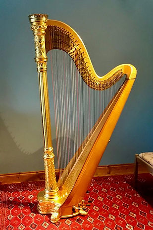 Horngacher orchestra pedal harp for sale