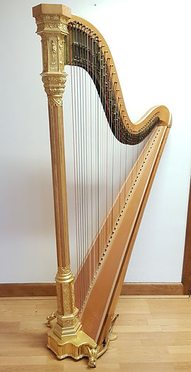 Erard gothic pedal harp for sale