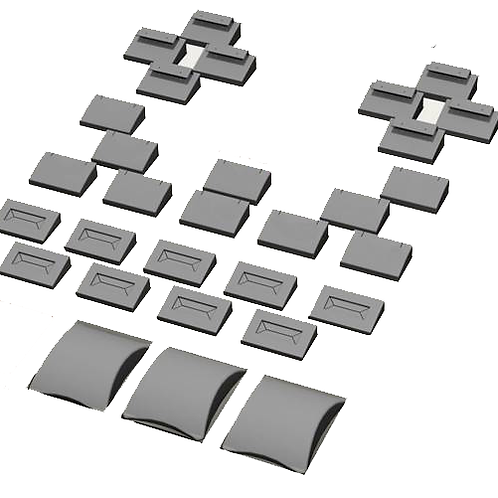 Replacement insert set - Collection595