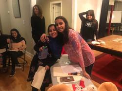 CPR training for refugee girls in GA