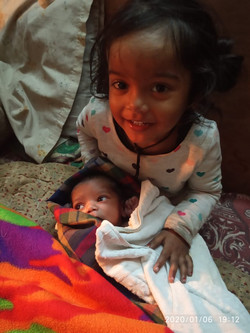 Sponsoring health for two sisters