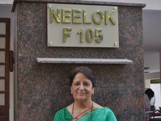 Two girls, their grandmother, and The Neelok Foundation