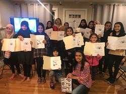 Science classes for immigrant girls