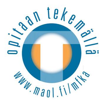 Opitaan tekemällä -logo Mfka-kustannukselle