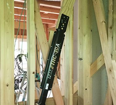 木造住宅用の地震対策【制震】制震システム「TRCダンパー」のご紹介です。