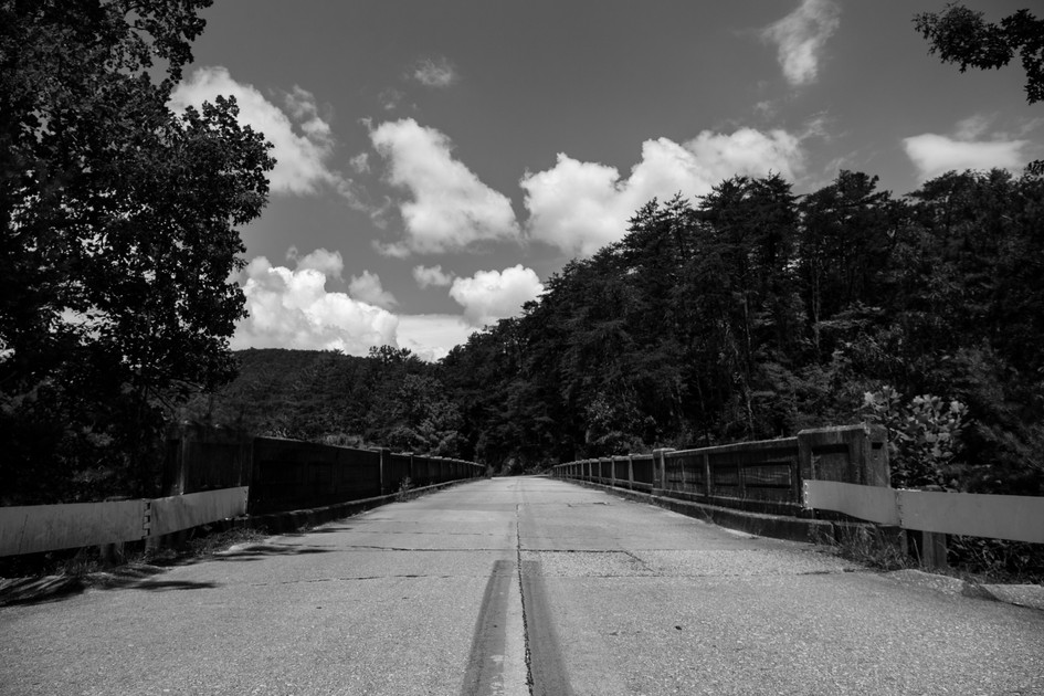 Abandoned Bridge Black and White - 1.jpg