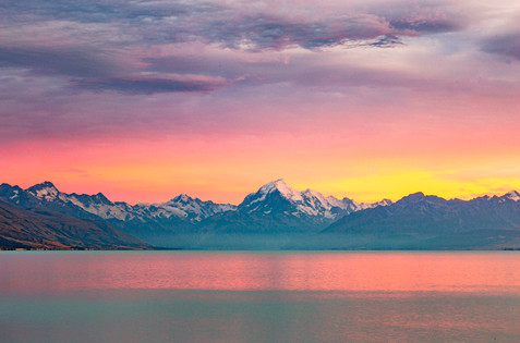 Sunrise over Mount Cook