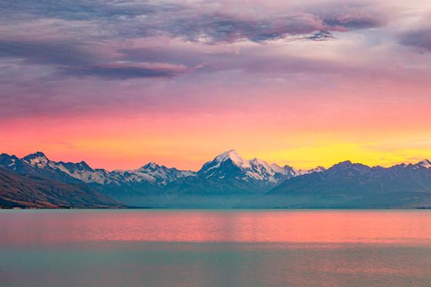 Sunrise over Mount Cook