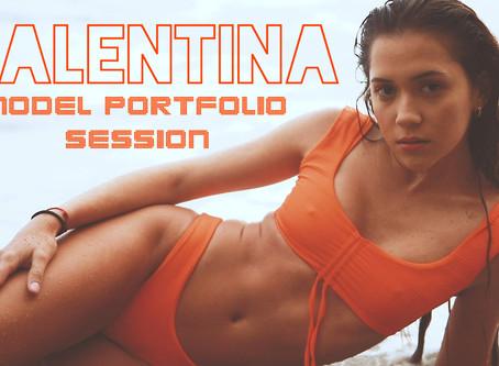 Valentina: Model Portfolio Session