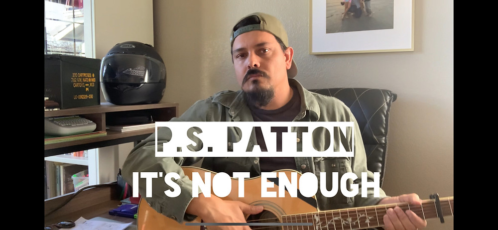 Christian fantasy author and worship singer P.S. Patton performs an acoustic cover of It's Not Enough by Dustin Kensrue and The Modern Post.