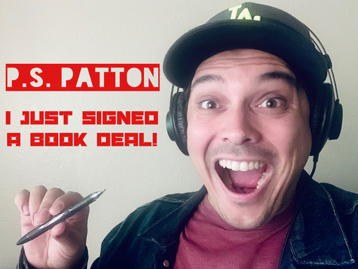 I Just Signed My First Book Publishing Deal!
