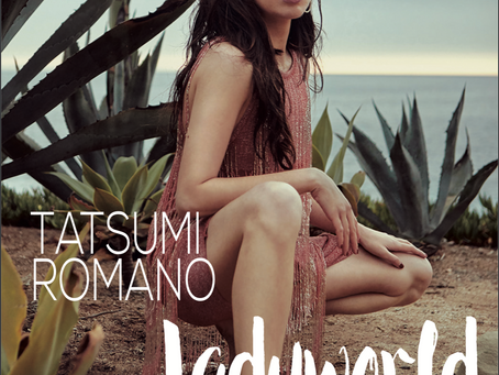 """Ladyworld"" Star Tatsumi Romano - Cover of Seraphina Magazine August 2019"