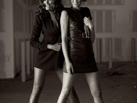 Sianna + Livia | L.A. Noir