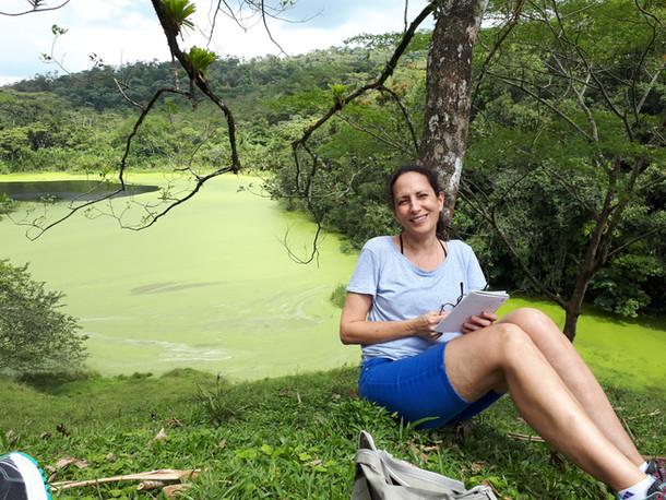 מסע כתיבה לקוסטה ריקה. אגם ארנל