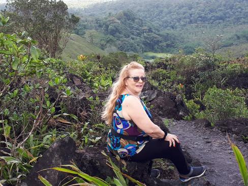 מסע כתיבה לקוסטה ריקה. ארנל
