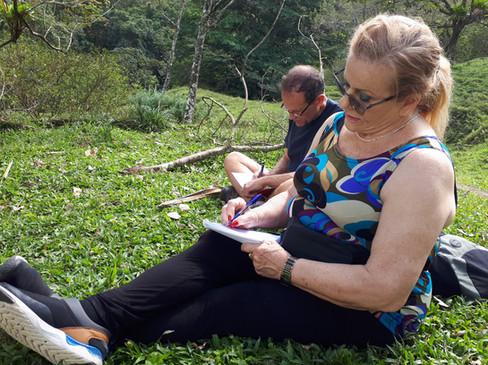 מסע כתיבה לקוסטה ריקה. הר ואגם ארנל
