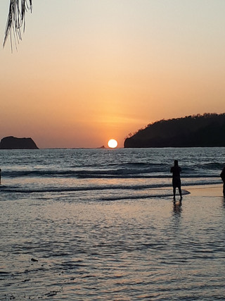 מסע כתיבה לקוסטה ריקה. חוף קרולי