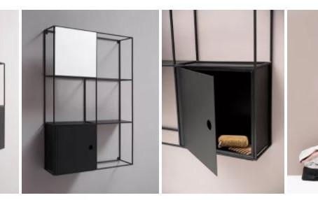 Tendencias en muebles contenedores para el baño con espejos simples