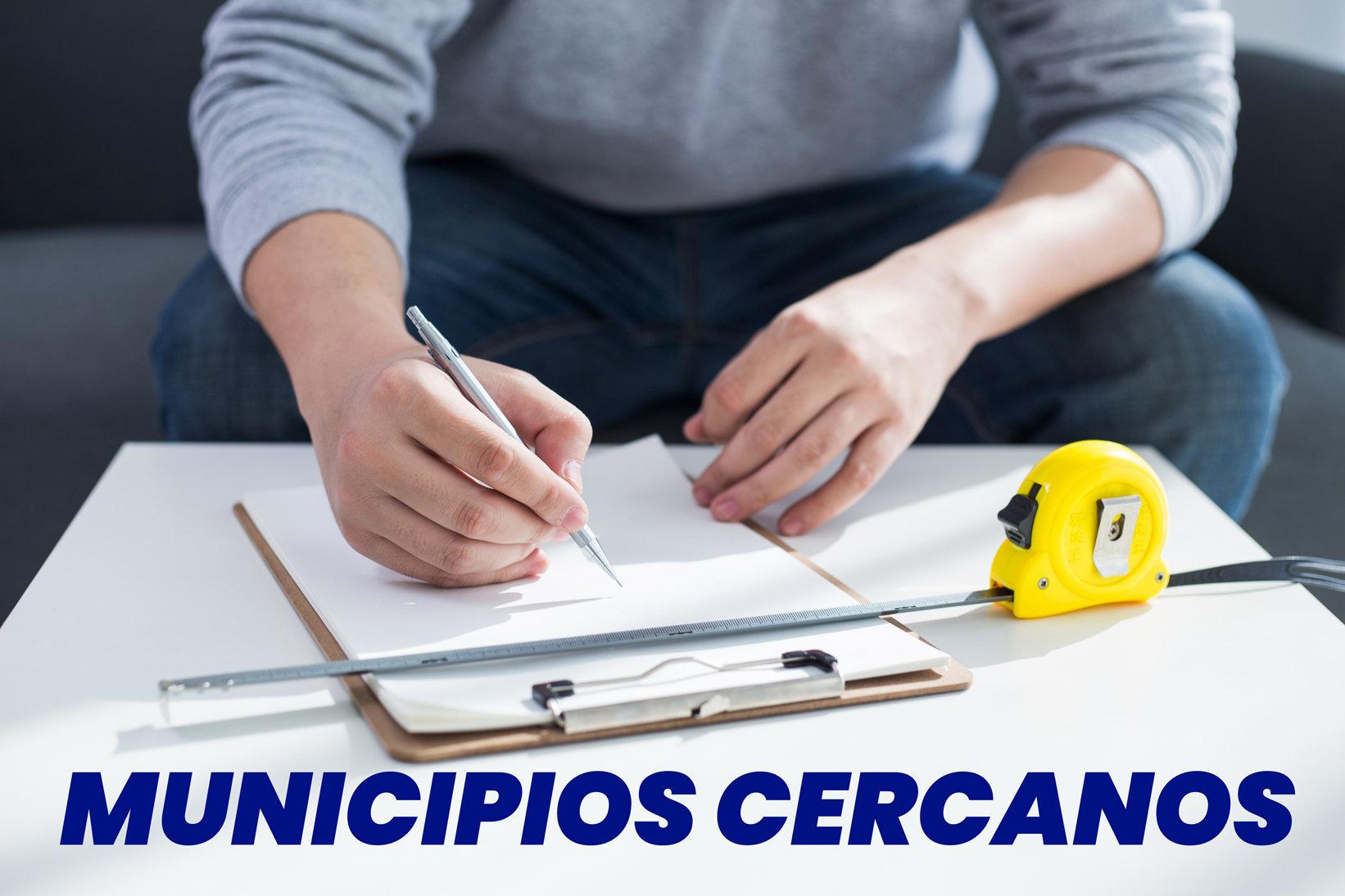 TOMA DE MEDIDAS: Municipios I