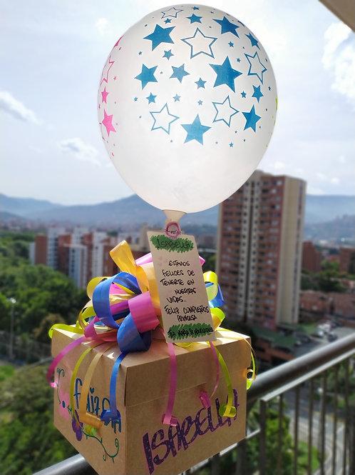 Caja Sorpresa Cumpleaños Infantil