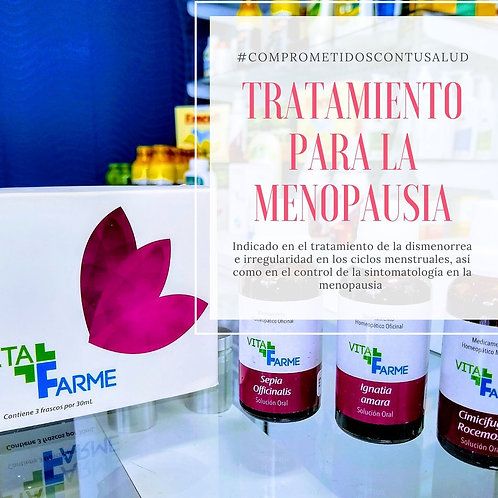 Tratamiento Menopausia