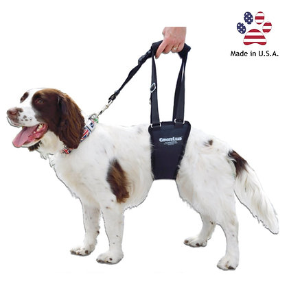 GingerLead Dog Support & Rehabilitation Harness - Small Male Sling