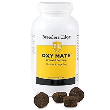 Breeder's Edge Oxy Mate Prenatal Soft Chews Medium & Lg Dog 60ct