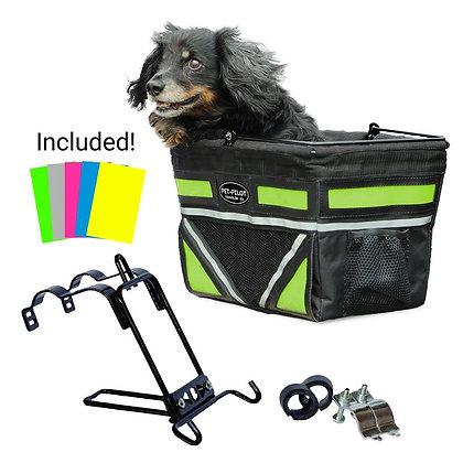 Travelin K9 2018 Pet-Pilot Dog Bike Basket Carrier