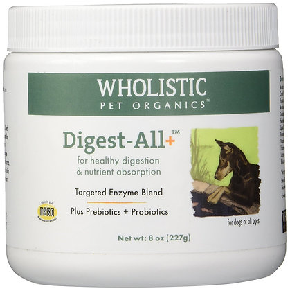 Wholistic Pet Organics Digest-All Plus Supplement