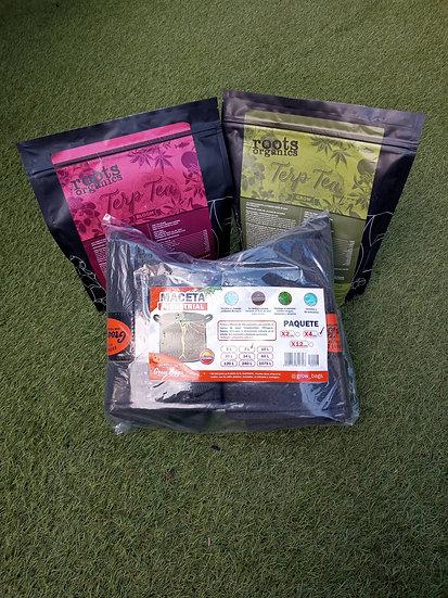 Grow Kit Vegetativo y Floración Maceta 7 Litros