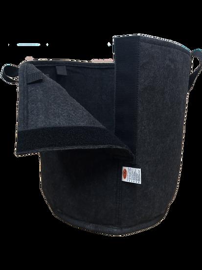 Maceta 60 L Geotextil Con Velcro Grow Bags