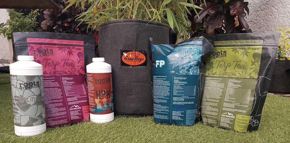 Maxi Kit Fertilizantes Macetas 20 Litros