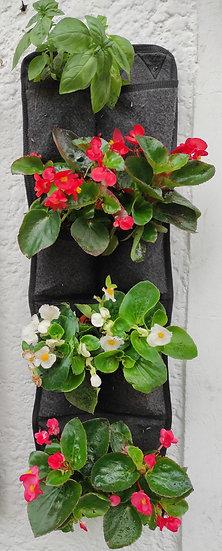 Hanging Wall Vertical Flower Pot