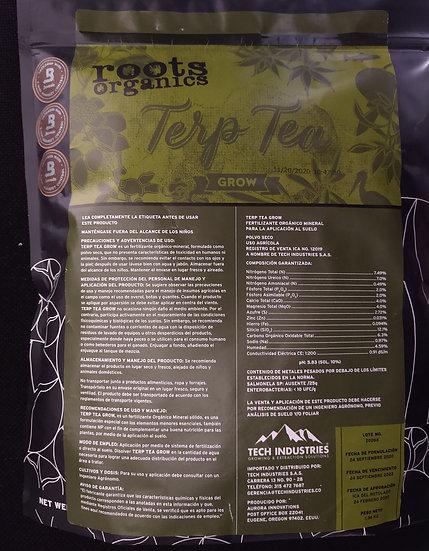 Terp Tea Grow 9 Pounds- Roots Organics