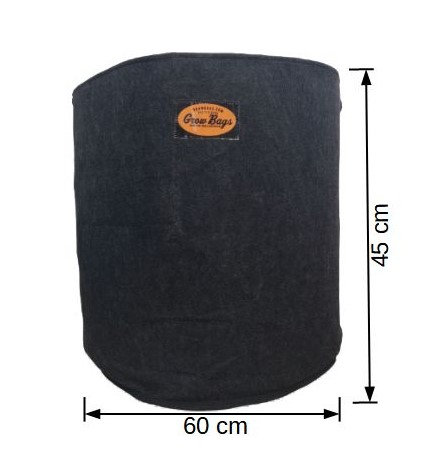 Maceta 120 Litros Geotextil Grow Bags
