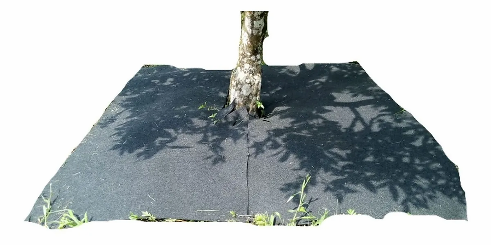 5 Large Weed Killer Mats for Plants & Trees