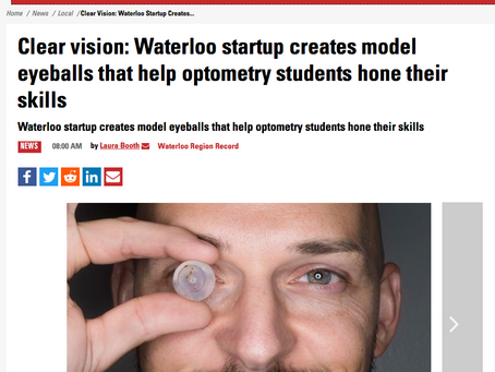 OcuBlink in the NEWS